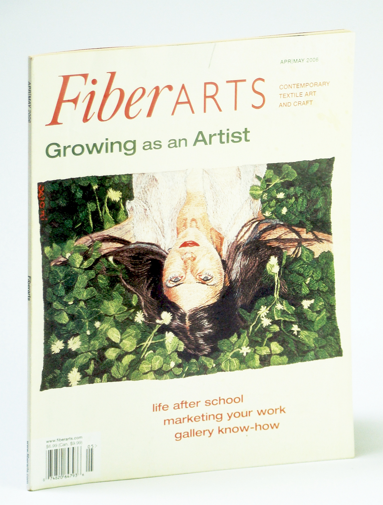 Image for Fiberarts, The Magazine of Textiles, April / May (Apr. / May) 2006: Quilt Artists Bernie Rowell and Carol Taylor