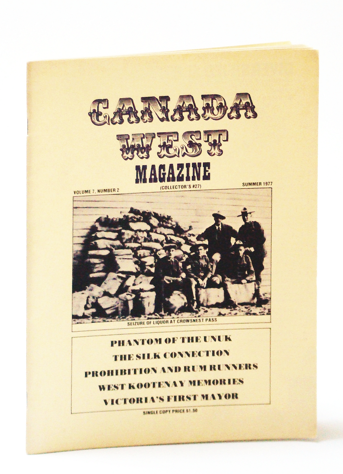 Image for Canada West Magazine (Collector's #27, Volume 7, Number 2, Summer 1977