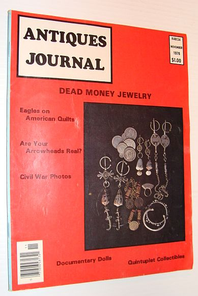 Image for Antiques Journal Magazine, November 1976 *DEAD MONEY JEWELRY*