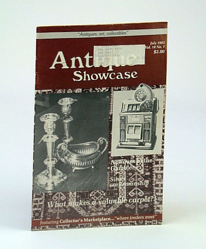 Image for Antique Showcase Magazine, July 1982 - Investing in Ivory