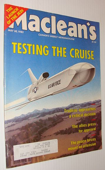 Image for Maclean's Magazine, 30 May 1983 *Cruise Missile Testing*