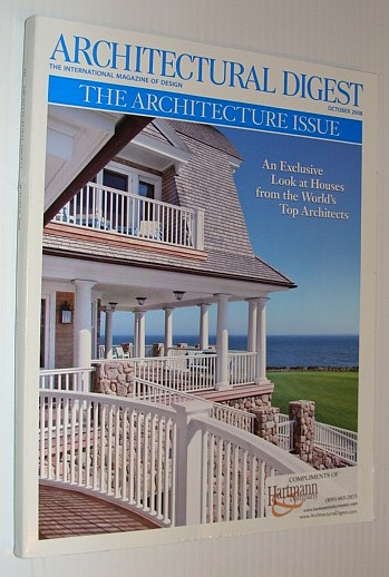 Image for Architectural Digest, October 2008 *The Architecture Issue*