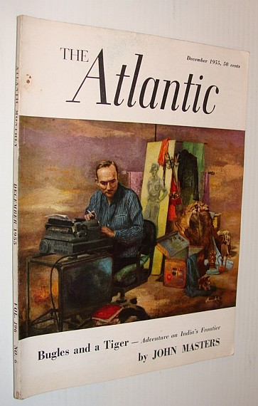 Image for The Atlantic Magazine, December 1955 *Cover Painting of John Masters*