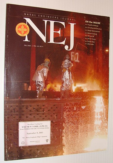 Image for NEJ - Naval Engineer's Journal, Fall 2003