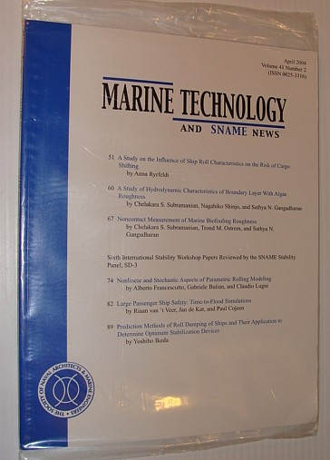 Image for Marine Technology and SNAME News, April 2004
