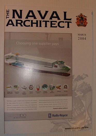 Image for The Naval Architect, March 2004