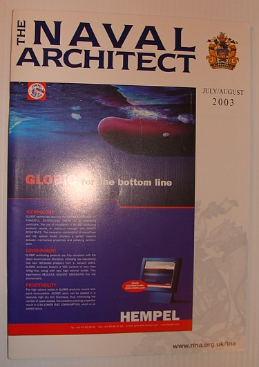 Image for The Naval Architect, July/August 2003