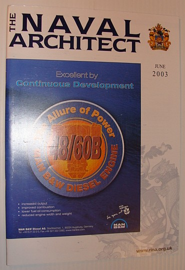 Image for The Naval Architect, June 2003