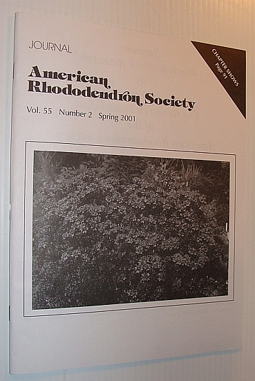 Image for Journal of the American Rhododendron Society, Vol. 55, Number 2 Spring 2001