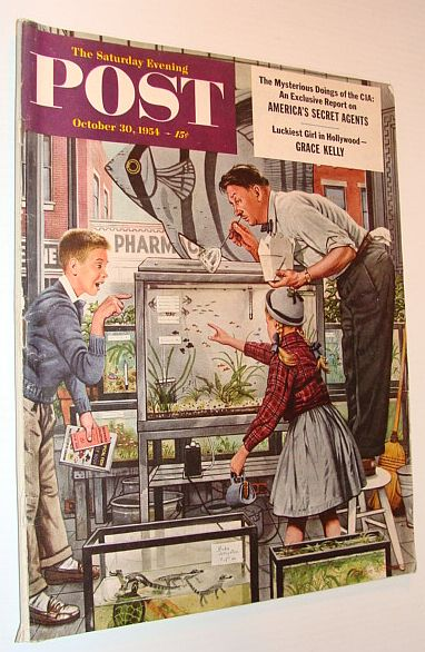 Image for The Saturday Evening Post, October 31, 1954 *The CIA and America's Secret Agents*