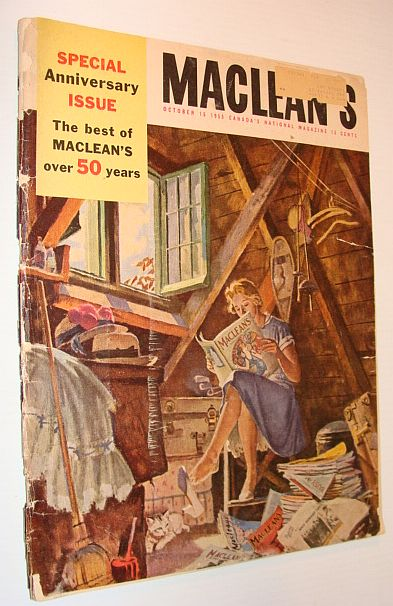 Image for Maclean's Magazine, 15 October 1955 *Fiftieth Anniversary Edition*