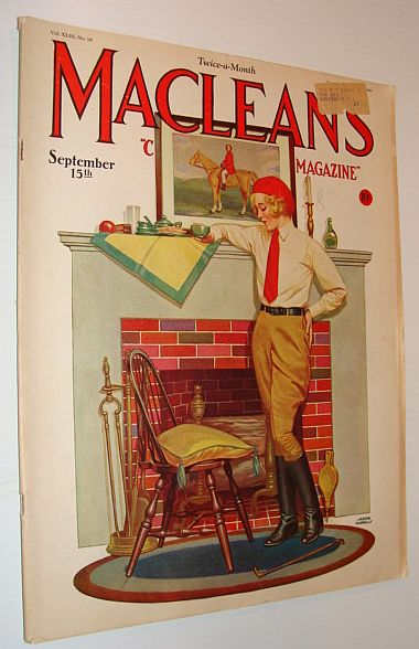 Image for Maclean's Magazine, September 15, 1930