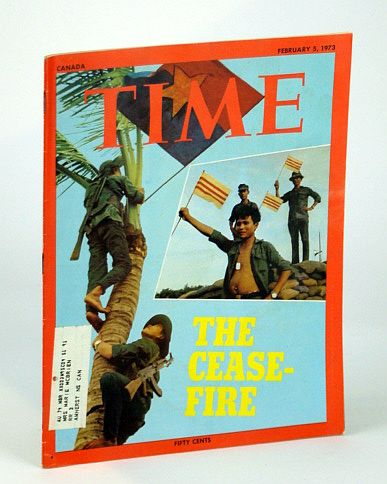 Image for Time Magazine (Canadian Edition), February (Feb.) 5, 1973 -  Vietnam War Ceasefire