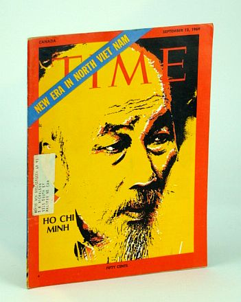 Image for Time Magazine (Canadian Edition) September (Sept.) 12, 1969 - Ho Chi Minh Cover