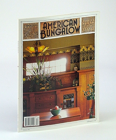 Image for American Bungalow Magazine, Spring 2008, Issue 57 - Cover Photo of Cheryl and Jeff Petra's Olympia, WA Home