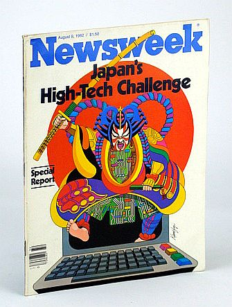 Image for Newsweek Magazine, August (Aug.) 10, 1981 - Japan's High-Tech Challenge