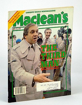 Image for Maclean's - Canada's Newsmagazine, April (Apr.) 23, 1979 - Ed Broadbent Cover