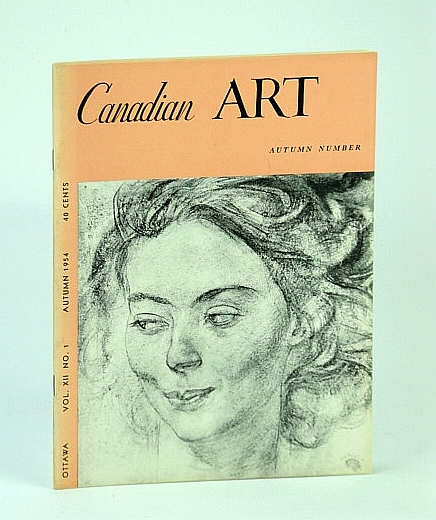 Image for Canadian Art Magazine, Autumn 1954 - Fifty Years of the Art of F.H. Varley