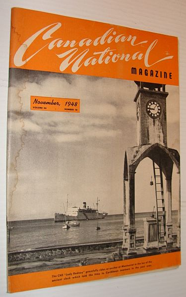 Image for Canadian National Magazine, November 1948, Volume 34, Number 10