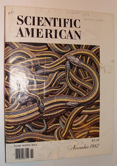 Image for Scientific American, November 1982 - Snake Mating Ball
