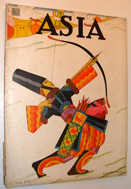 Image for Asia Magazine, July 1926, Volume 26, Number 7