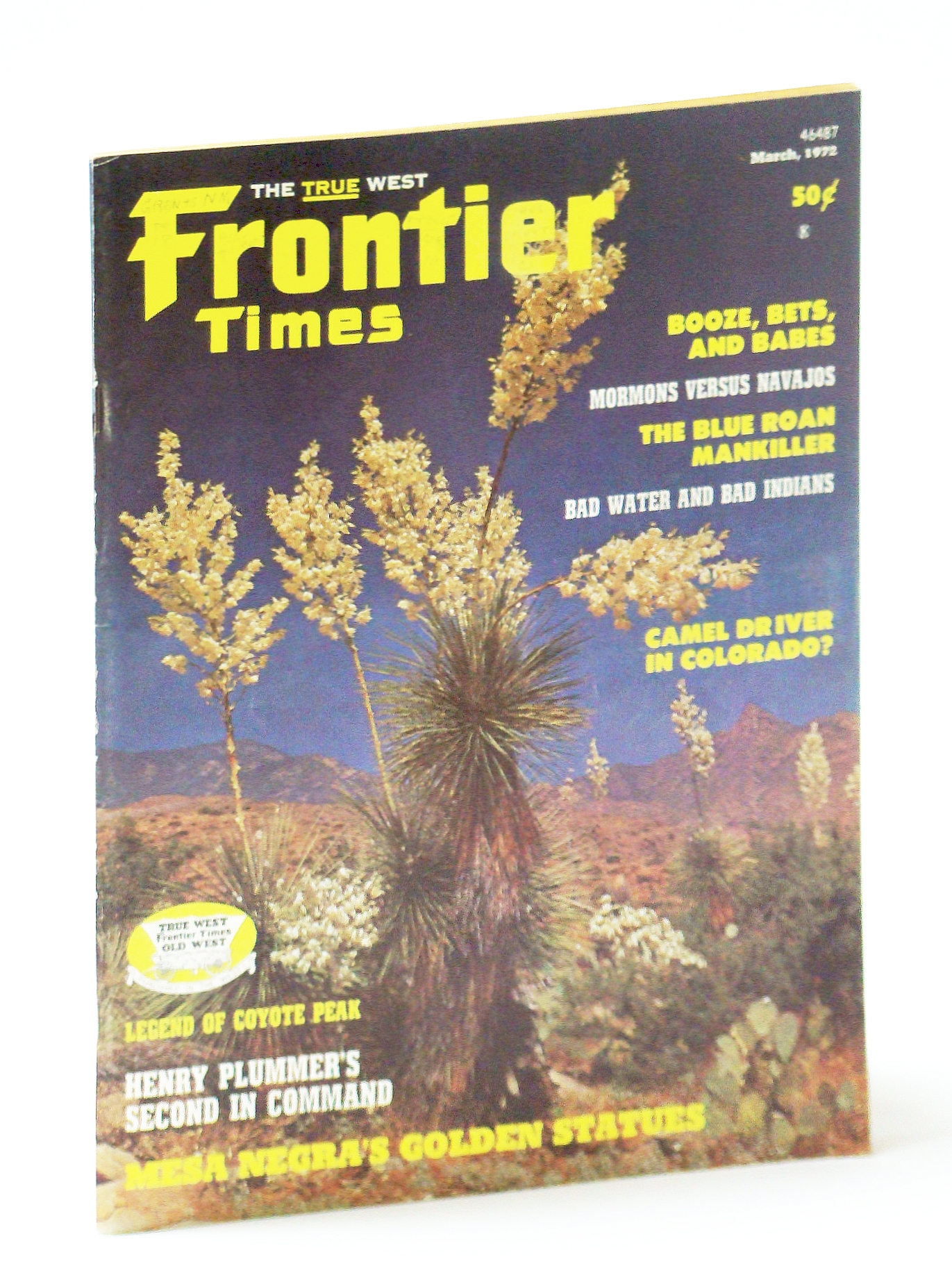 Image for Frontier Times Magazine: February - March (Feb. - Mar.), 1972: The Blue Roan Mankiller