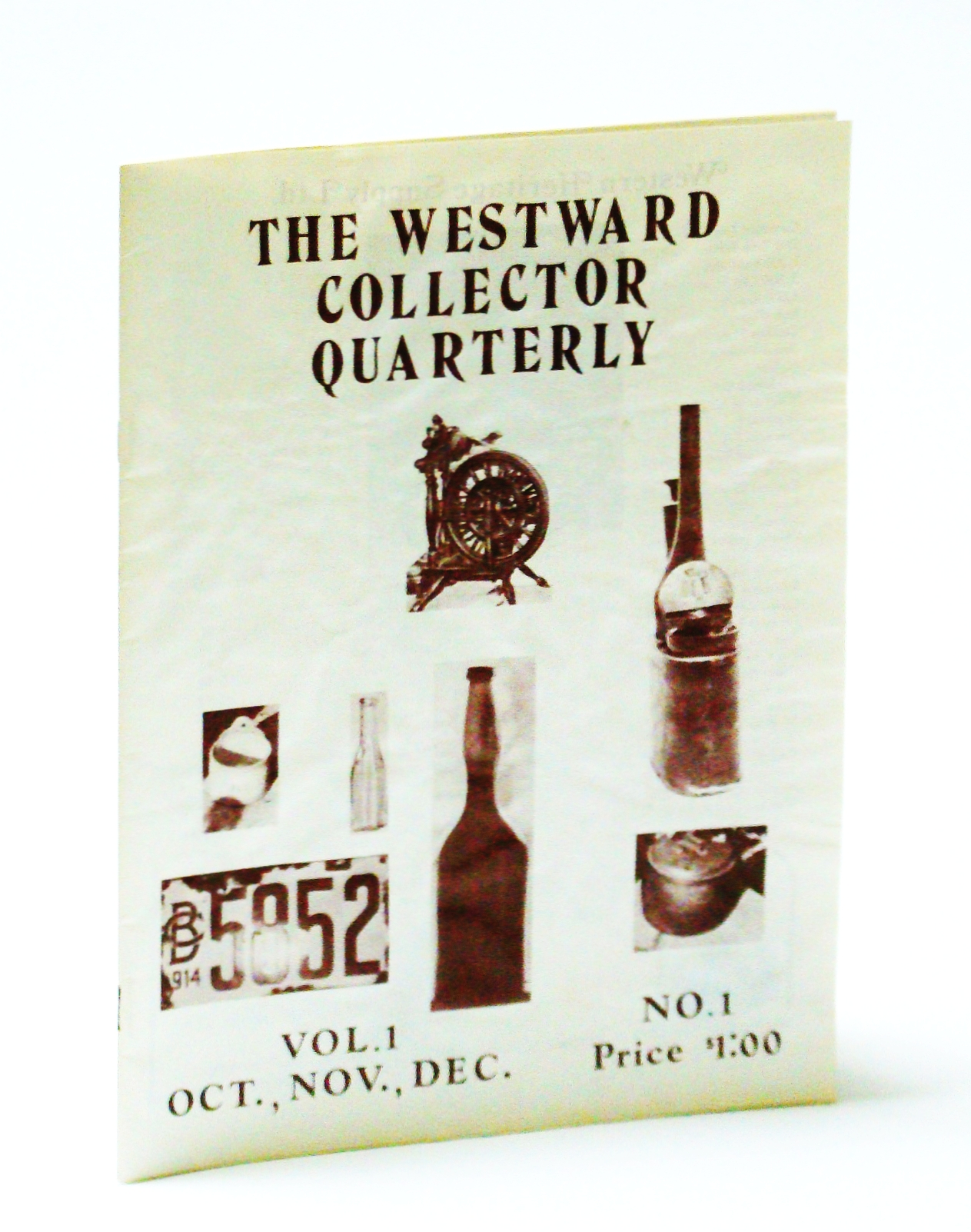 Image for The Westward Collector Quarterly (W.C.Q.), Volume 1, Number 1, Fall 1973