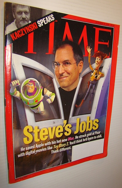 Image for Time Magazine, October 18, 1999 - Steve Jobs/Pixar Cover