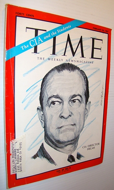Image for Time Magazine, February 24, 1967 - CIA Director Helms Cover