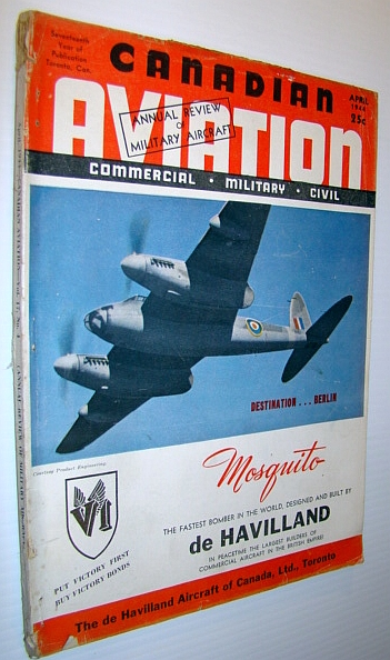 Image for Canadian Aviation Magazine, April 1944 - Commercial, Military, Civil