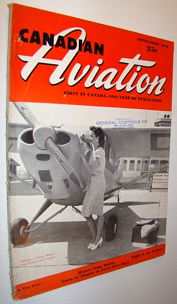 Image for Canadian Aviation Magazine, September 1946