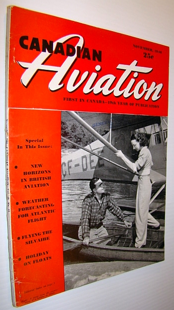 Image for Canadian Aviation Magazine, November 1946