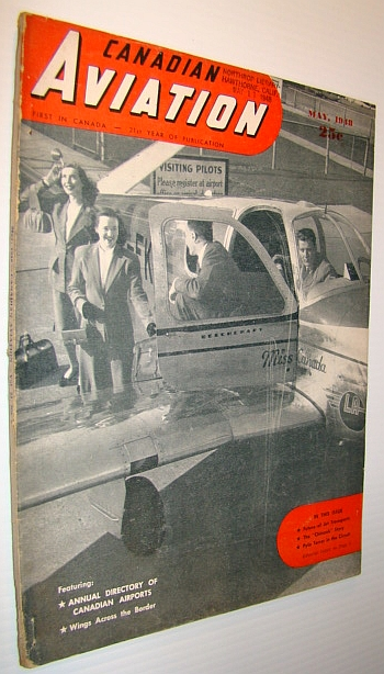 Image for Canadian Aviation Magazine, May 1948