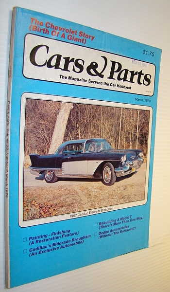 Image for Cars & Parts Magazine, March 1979
