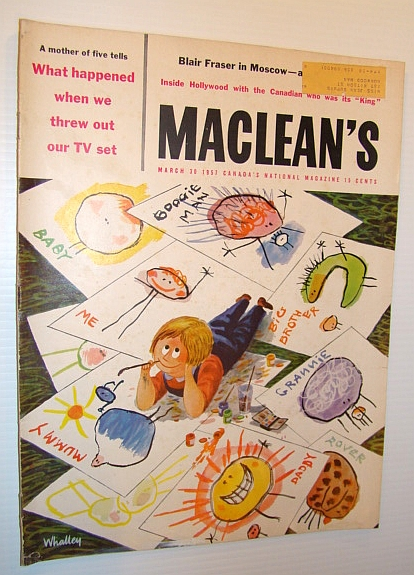 Image for Maclean's - Canada's National Magazine, March 30, 1957
