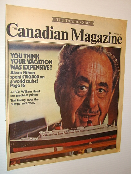 Image for Canadian Magazine, July 29, 1972 - Alexis Nihon Cover Photo