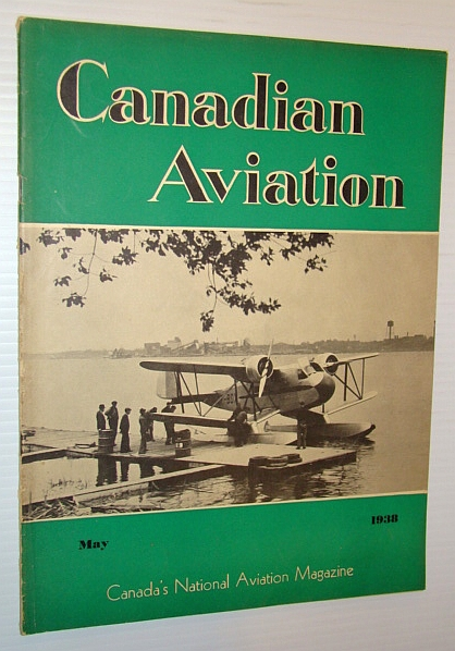 Image for Canadian Aviation, May 1938 - Canada's National Aviation Magazine