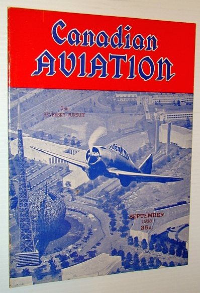 Image for Canadian Aviation Magazine, September 1938