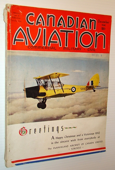 Image for Canadian Aviation Magazine, December 1941 - Canadian Aircraft Production