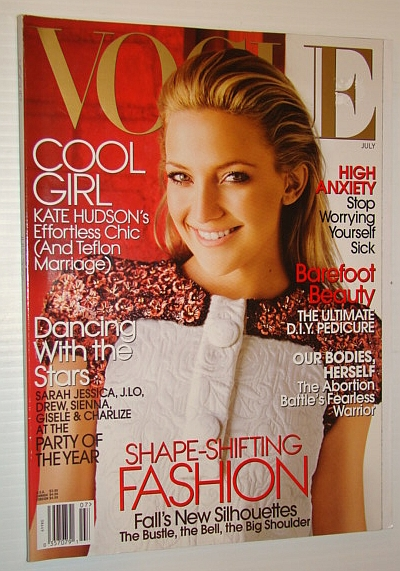 Image for Vogue Magazine (US), July 2006 - Kate Hudson Cover Photo